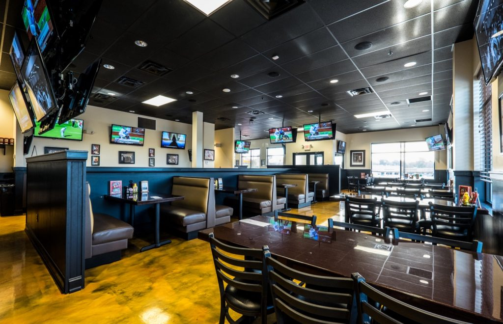 TD's Tailgate Grill Interior