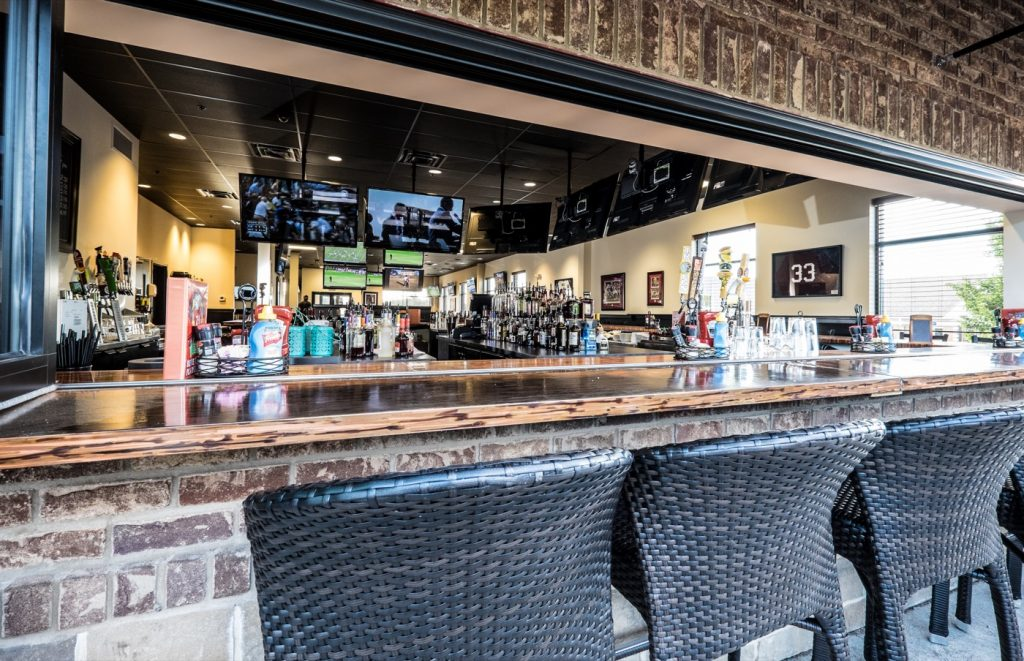 TD's Tailgate Grill Patio Bar 2