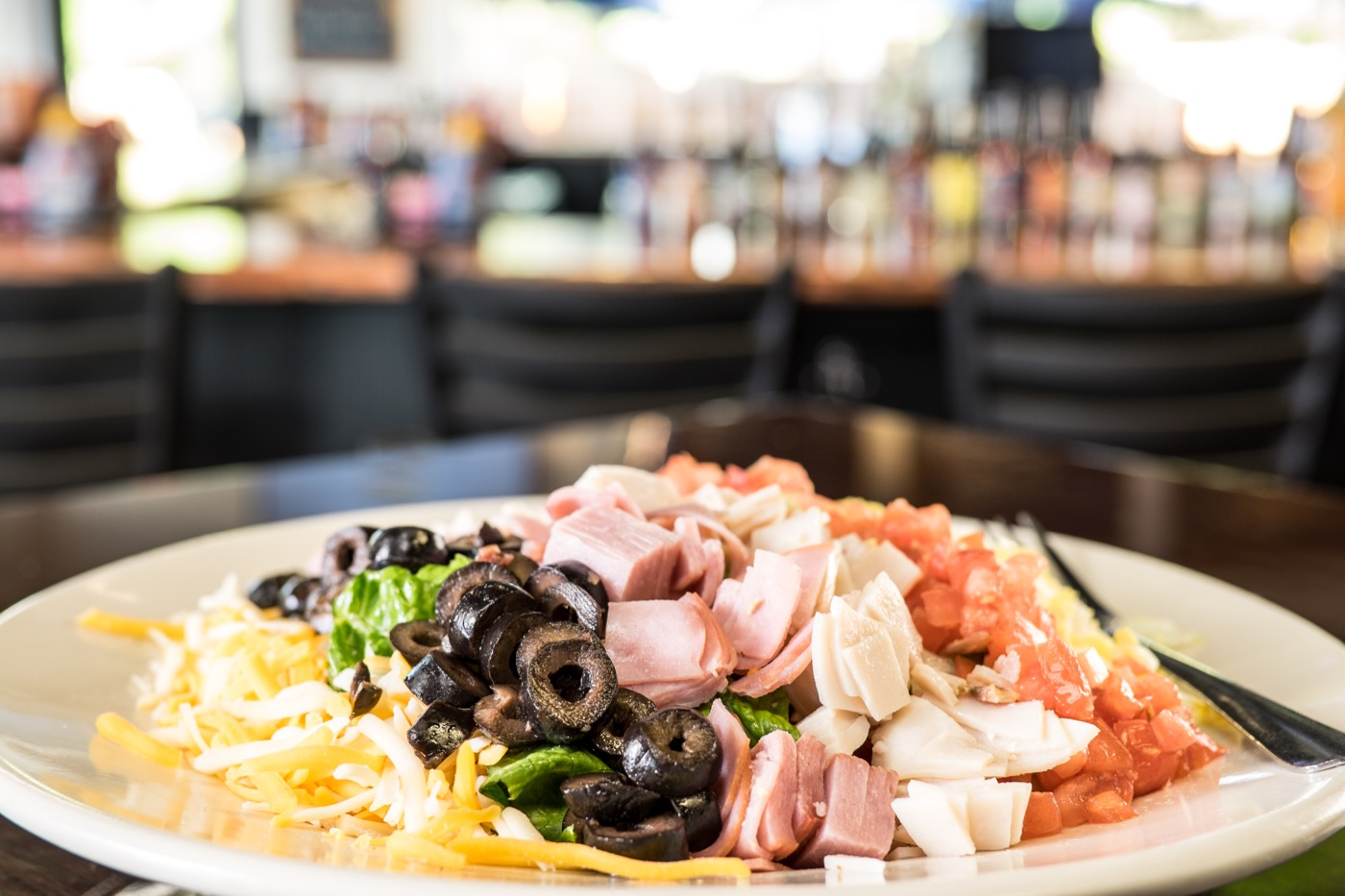 TD's Tailgate Grill Traditional Cobb Salad 5